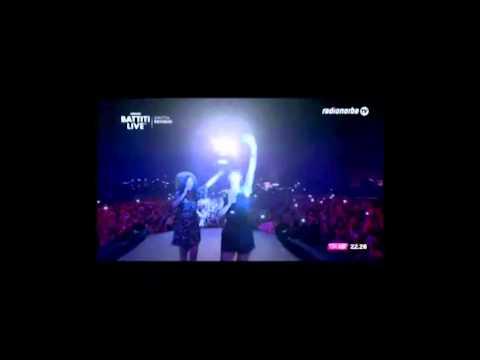 Baby K - Roma Bangkok feat. Giusy Ferreri @ Battiti Live