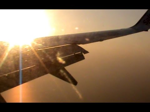 SpiceJet | Boeing 737 | Beautiful Morning Landing - Surat Airport, Gujarat, India