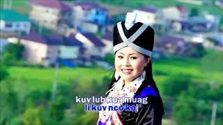 Nkauj hmoob tus dai siab - ntxawg yes xus ( new song official 2018)