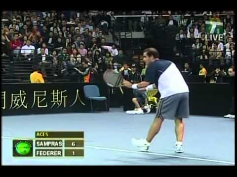 Clash of the Titans   Pete Sampras vs  Roger Federer   Macao   24 11 2007