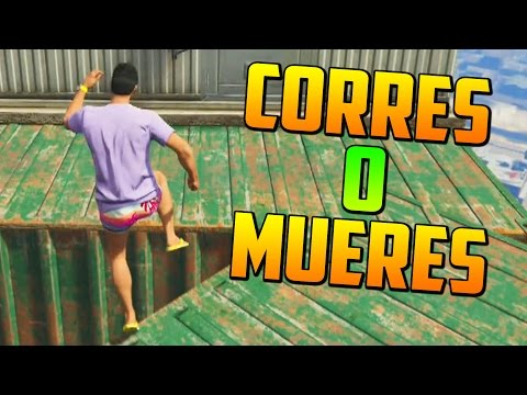 CORRES O MUERES - Gameplay GTA 5 Online Funny Moments (GTA V PS4)