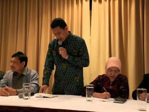 Dialog Komisi 8 dengan PPIA di Melbourne (part 1-perkenalan tim)