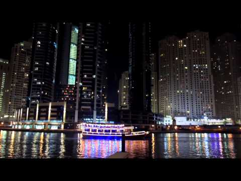 Dubai Marina @ night - Dubai1080pHD - (Video 3)