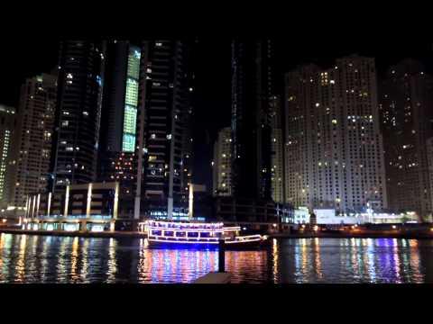 Dubai Marina @ night - Dubai1080pHD - (Video 3)