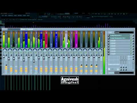 Nagin - Trance Remix - Exclusive view of Project from FL Studio...