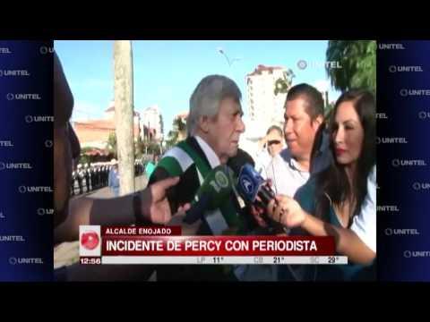 VIDEO: Percy Fernández dice a los periodistas son una 'huevada'