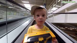 Baby Shopping in Supermarket with Family - Kayleigh Kirk