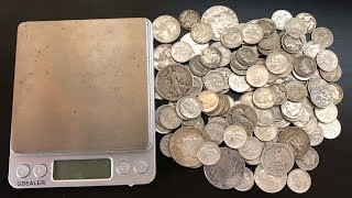 How to Measure Constitutional Silver in Ounces (Weighing Junk Silver)