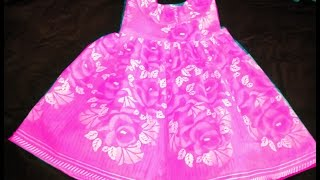 SIMPLE FROCK CUTTING,