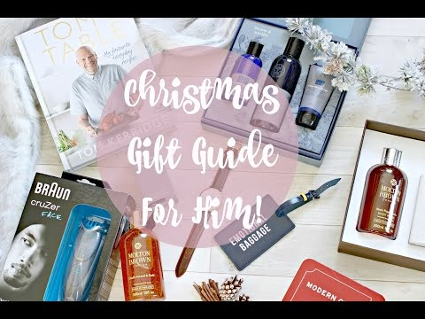 Christmas Gift Guide - for the boys!   |   Fashion Mumblr