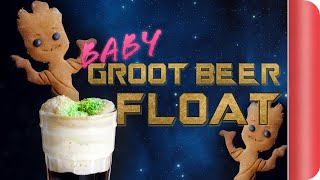 Gingerbread Groot Beer Float From Guardians of the Galaxy