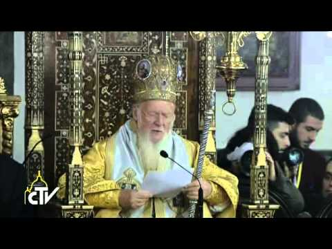 Pope Francis: communion with Orthodox, without conditions