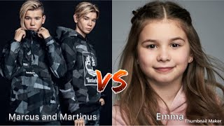 Marcus and Martinus VS Emma Tik Tok (musical.ly)🎵❤️