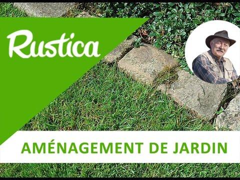 Poser une bordure en pav s youtube - Bordure beton de jardin ...