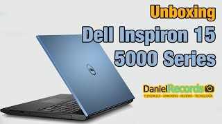 Unboxing Laptop Dell Inspirion 15 5000 Series en Español