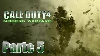 Call of Duty 4: Modern Warfare Gameplay Español Parte 5 - Pc 1080p 60 fps - No Comentado