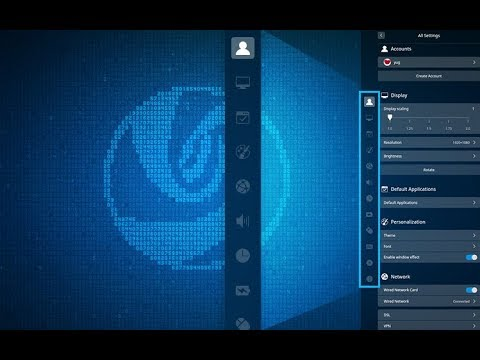Checking out deepin 15.6
