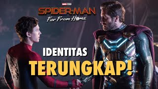 "REVIEW FILM ""SPIDER-MAN FAR FROM HOME"" (2019) BAHASA INDONESIA - PENUH KEJUTAN HINGGA DETIK TERAKHIR"
