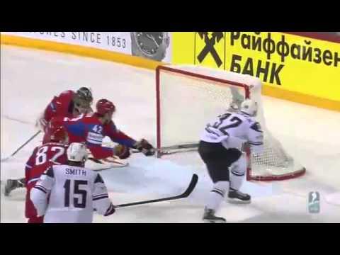 Россия  США 3 - 8 - Все голы Хоккей ЧМ - 2013 1 - 4 финала)