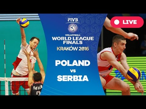 Poland v Serbia - Group 1: 2016 FIVB Volleyball World League