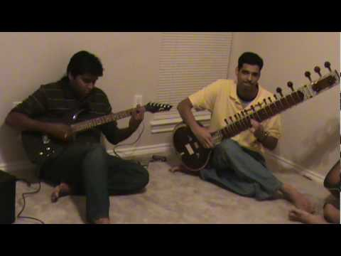 man udhan varyache Guitar and Sitar version