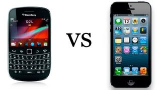 Blackberry 9900 vs iPhone 5 - что удобнее ? Soft CLub