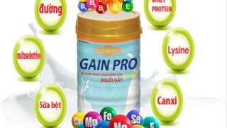 VIDEO SỮA US SURE GAIN PRO