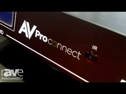 InfoComm 2016: AVProStore Features Its AC-MX88 SUHD Matrix Switch