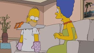 The Simpsons - Homer eats his own Body
