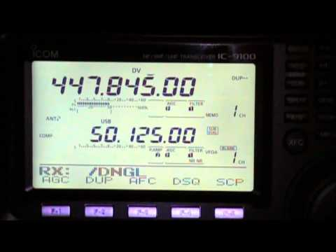 ICOM IC-9100 in DV Mode