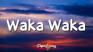 Download lagu Waka Waka (This Time for Africa) - Shakira (Lyrics) 🎵
