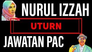 NURUL IZZAH UTURN JAWATAN PAC - Review Berita (4/4/2019) #PARLIMEN