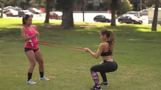 Daphne Joy working out by Live Rich Media