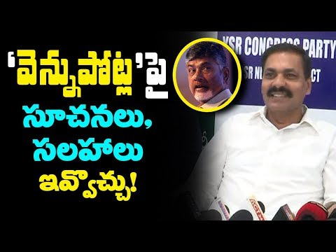 Kakani Govardhan Reddy Advice To CM Chandrababu Over Backstab | AP Political News | Mana Aksharam