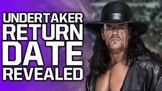 The Undertaker WWE Return Date Revealed | AEW Sign Former WCW Talent