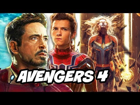 Avengers 4 Trailer Footage and Iron Man Infinity Stones Scene Explained