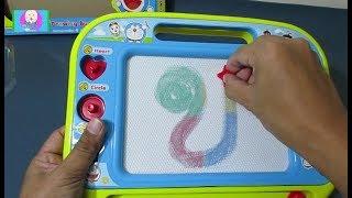 รีวิว กระดานแม่เหล็ก โดราเอม่อน วาดรูปโดเรม่อน โดเรมี ให้ดู : Drawing Board