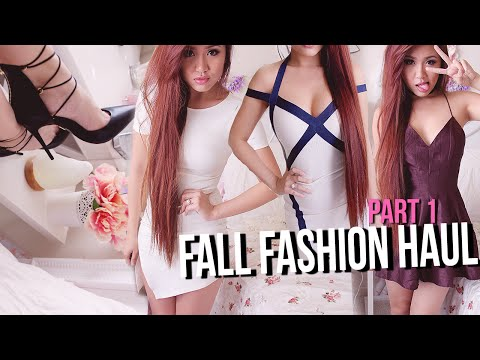 HUGE FALL TRY-ON HAUL! Pt 1 ✘ ShopHopes, Lulu*s, Lovelywholesale