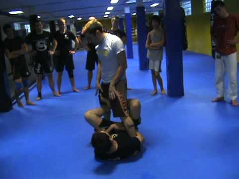 Leg Lock Counter Attacks  - Reilly Bodycomb : Sambo Camp Brussels, Belgium  2010 Image 1