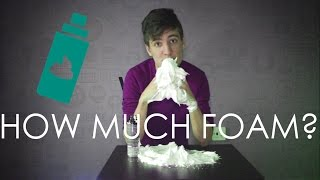 HOW MUCH SHAVING FOAM IS IN ONE CAN? Rihards Bereza