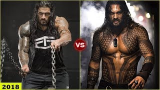 ROMAN REIGNS vs JASON MOMOA Transformation 2018 [HD]