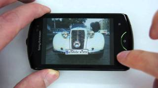 Sony Ericsson Live with Walkman - music, gallery, internet - part 2