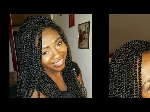 Crochet Senegalese Twists Tutorial/Review