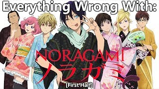 Everything Wrong With: Noragami (First Half)