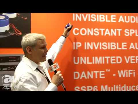 ISE 2017: Revolution Acoustics Introduces SSP6 Multifunctional Transducer and Ubiqui-T Tile Speaker