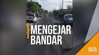 Mirip Film Action, Polisi Kejar-kejaran dengan Bandar Narkoba di Bali