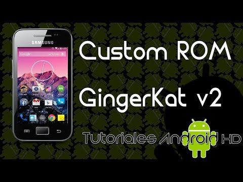 Tutorial GingerKat v2 ROM 99% ESTABLE Estilo Pure Android KitKat Galaxy Ace s5830i-m-c-39i