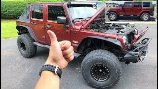"LAST MODS FOR THE JEEP!!! TOTAL COST OF MY ONE MONTH ""CHEAP"" BUILD... (From Stock to This!)"