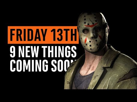 Friday the 13th | 9 New Things Coming Soon