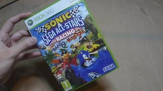 Unboxing (PL) - Sonic & SEGA All Stars Racing (2010 - Xbox 360)